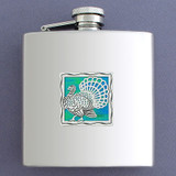 Unique 6 Oz Wild Turkey Drinking Flasks