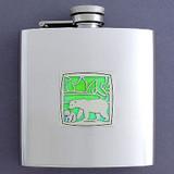 Polar Bear Drinking Flask 6 Oz.