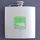 Polar Bear Drinking Flask 6 Oz.