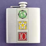 2010 6 Oz. World Cup Soccer Flasks