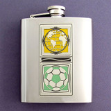 World Cup 8 Oz Soccer Championships Flask