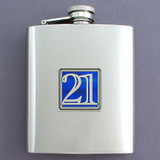 Just Legal Flasks 8 Oz. Stainless Steel