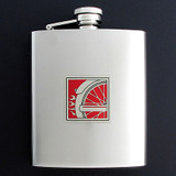 Motorcycle Flask 8 Oz. Stainless Steel