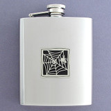 Spider Flask 8 Oz. Stainless Steel