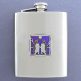 Penguin Flask - 8 Oz. Stainless Steel