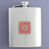 Flower Flasks 8 Oz. Stainless Steel