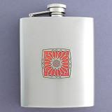 Flower Flasks 8 Oz. Stainless Steel