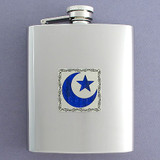 Crescent Flasks 8 Oz. Stainless Steel