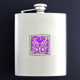Massage Therapists Flasks 8 Oz. Stainless Steel