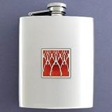 Wishbone Flasks 8 Oz. Stainless Steel