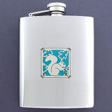 Squirrel Flasks 8 Oz. Stainless Steel