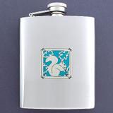 Squirrel Flasks 8 Oz. Stainless Steel
