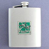 Duck Flask in 8 Oz. Stainless Steel