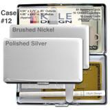 Deeper Cigarette Case Wallet - Hard Double-sided, 120mm Cigarettes