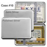 Deep Cigarette Case - Silver