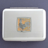 Rooster Metal Keepsakes Travel Cases
