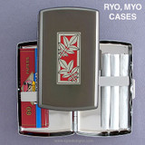 Leaf Design RYO or MYO Cigarette Case