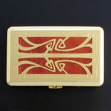 Art Nouveau Large Cigarette Cases and Credit Card Wallets
