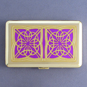 Gold Celtic Metal Case
