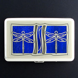 Dragonfly Large Designer Wallet or Cigarette Case