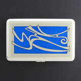 Winds Large Credit Card Wallet or Metal Cigarette Case