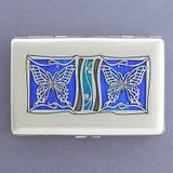 Butterflies Decorative Credit Card Wallets or Cigarette Cases