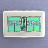Dragonflies Decorative Cigarette Case Metal Wallets