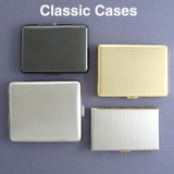 Metal Credit Card Wallets & Cigarette Cases - Thin Thick Small Large