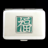 Good Fortune Credit Card Wallet Cigarette Case