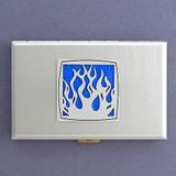 Burning Flame Cigarette Case Wallets