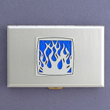 Burning Flame Cigarette Case Wallets