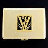 Veterinary Metal Wallets or Cigarette Cases