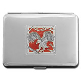 Eagle Metal Credit Card Wallet or Cigarette Case