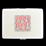 Manicurist Nail Polish Design Cigarette Case Wallet