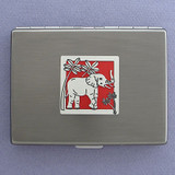 Elephant Credit Card Wallet Cigarette Cases