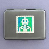 Robot Metal Credit Card Wallets or Cigarette Cases