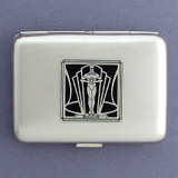 Award Statuette Cigarette Case or Metal Wallet