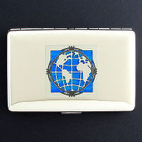 Globe Credit Card Wallet Cigarette Case