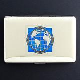 Globe Credit Card Wallet Cigarette Case