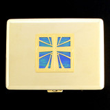 Christian Cross Credit Card Wallet & Cigarette Case