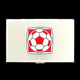 Soccer Ball Metal Cigarette Case Wallets