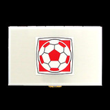 Soccer Ball Metal Cigarette Case Wallets
