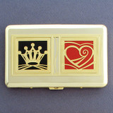 King of Hearts Credit Cards Holder Wallet