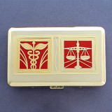 Medical Law Credit Card Wallets or Cigarette Cases