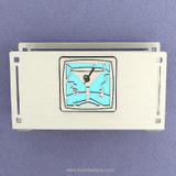 Martini Glass Desktop Business Card Holders