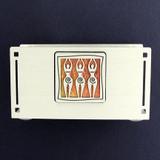 Goddess Business Card Holder Display for the Desk