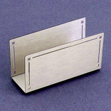 Classic Engravable Business Card Holders for the Desk