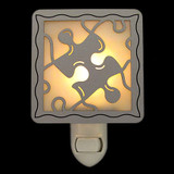 Jigsaw Puzzle Piece Night Light