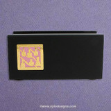 Nail Tech Wood Office Desk Business Card Holders
