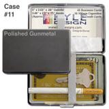 Thick Cigarette Case - Gunmetal